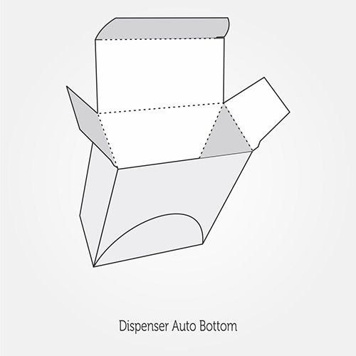 Dispenser Auto Bottom