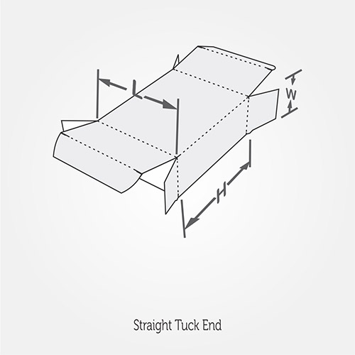 Straight Tuck End Style